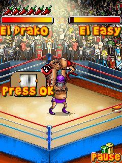 Mobile game Mexican Wrestling - screenshots. Gameplay Mexican Wrestling