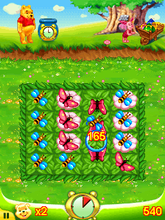 Mobile game Pooh's Hunny Trouble - screenshots. Gameplay Pooh's Hunny Trouble