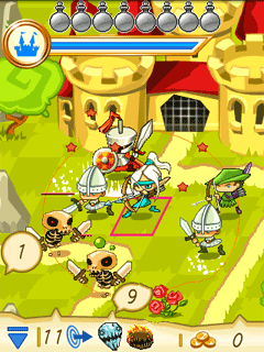 Mobile game Fantasy kingdom defense - screenshots. Gameplay Fantasy kingdom defense