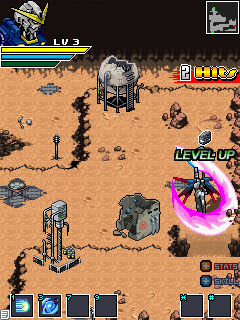 Mobile game Gundam: Hero of Mars - screenshots. Gameplay Gundam: Hero of Mars