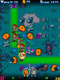 Mobile game Zombie Blitz - screenshots. Gameplay Zombie Blitz