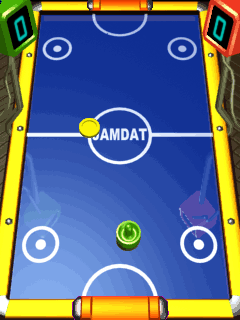 Mobile game Air Hockey - screenshots. Gameplay Air Hockey