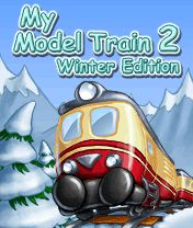 Download free mobile game: My Model Train 2 Winter Edition - download free games for mobile phone