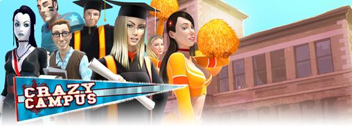 Mobile game Crazy Campus - screenshots. Gameplay Crazy Campus