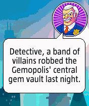 Mobile game Diamond Detective - screenshots. Gameplay Diamond Detective