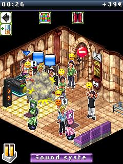 Java game screenshots Nightclub Manager. Gameplay Nightclub Manager