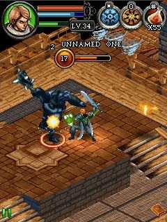 Mobile game Dungeon Hunter 3 - screenshots. Gameplay Dungeon Hunter 3