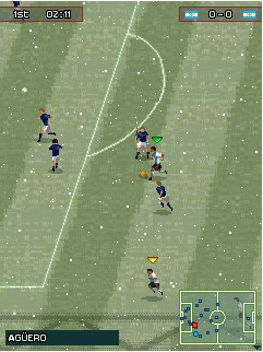 Mobile game Pro Evolution Soccer 2010 - screenshots. Gameplay Pro Evolution Soccer 2010