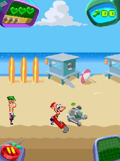 Mobile game Phineas and Ferb - screenshots. Gameplay Phineas and Ferb