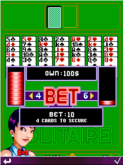Mobile game Platinum Solitaire - screenshots. Gameplay Platinum Solitaire