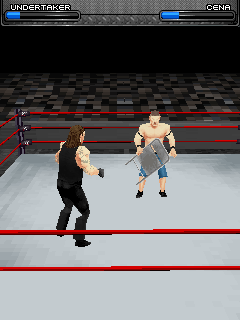 Mobile game WWE SmackDown vs. RAW 2009 - screenshots. Gameplay WWE SmackDown vs. RAW 2009
