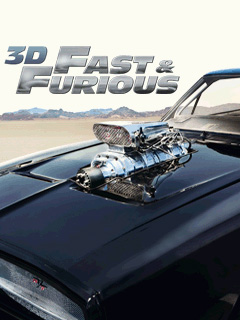 Java game screenshots Fast and Furious 3D. Gameplay Fast and Furious
