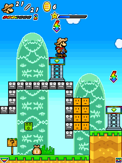 Mobile game Super Mario Forever 2 - screenshots. Gameplay Super Mario Forever 2