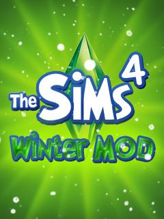 Mobile game The Sims 4: Winter MOD - screenshots. Gameplay The Sims 4: Winter MOD