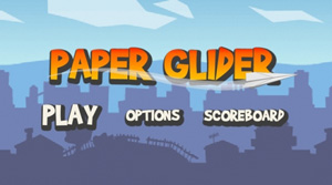 Download free mobile game: Paper Glider - download free games for mobile phone