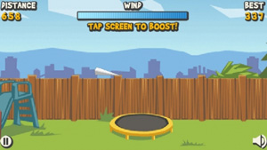 Mobile game Paper Glider - screenshots. Gameplay Paper Glider