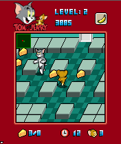 Mobile game Tom & Jerry: Cheese Chase - screenshots. Gameplay Tom & Jerry: Cheese Chase