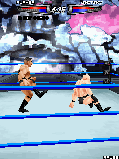 Mobile game WWE SmackDown vs. RAW 2008 - screenshots. Gameplay WWE