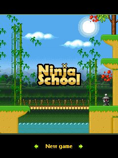 Mobile game Ninja School - screenshots. Gameplay Ninja School