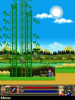 Mobile game Ninja School 2 - screenshots. Gameplay Ninja School 2
