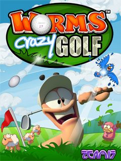 Download free mobile game: Worms Crazy Golf 2007 - download free games for mobile phone