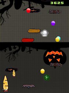 Java game screenshots Doodle Jump Halloween. Gameplay Doodle Jump ...