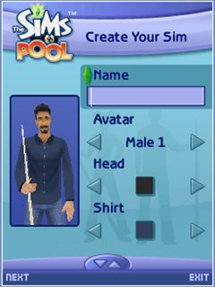 Mobile game The Sims: Pool - screenshots. Gameplay The Sims: Pool
