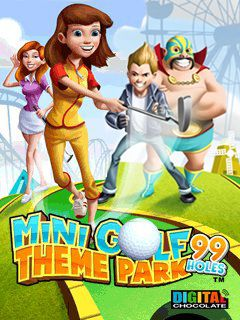 Download free mobile game: Mini Golf 99 holes: Theme Park - download free games for mobile phone