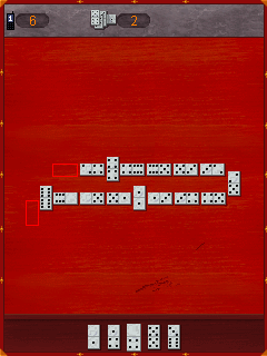 Mobile game Domestic Dominoes - screenshots. Gameplay Domestic Dominoes