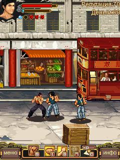 Mobile game Bruce Lee Legend - screenshots. Gameplay Bruce Lee Legend