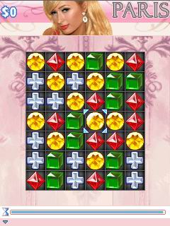Mobile game Paris Hilton's Diamond Quest - screenshots. Gameplay Paris Hilton's Diamond Quest