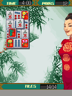 Mobile game Platinum Mahjong - screenshots. Gameplay Platinum Mahjong