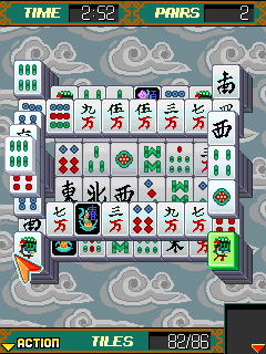 Platinum Mahjong - java game for mobile. Platinum Mahjong free240