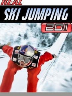 Download free mobile game: Real Ski Jumping 2011 - download free games for mobile phone