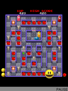 free download of pacman game for mobile