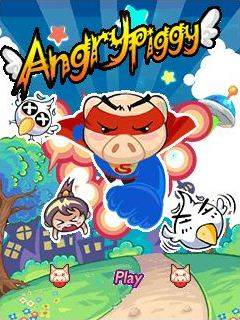Mobile game Angry Piggy - screenshots. Gameplay Angry Piggy