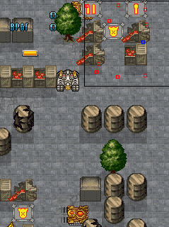 Mobile game Battle of Large Tanks - screenshots. Gameplay Battle of Large Tanks