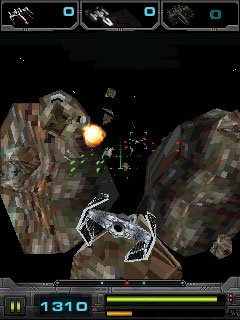 Java game screenshots Star Wars: Imperial Ace 3D. Gameplay Star Wars ...