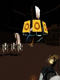 Mobile game Portal 2 - screenshots. Gameplay Portal 2
