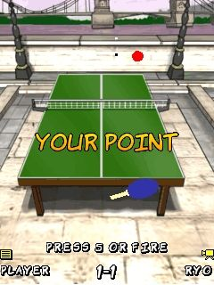 Mobile game Smash Ping Pong - screenshots. Gameplay Smash Ping Pong