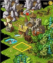 Mobile game Townsmen 2 - screenshots. Gameplay Townsmen 2