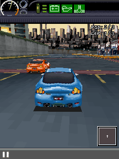 Mobile game The Fast And The Furious: Fugitive - screenshots. Gameplay The Fast And The Furious: Fugitive