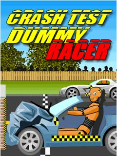 Download free mobile game: Crash Test Dummy Racer - download free games for mobile phone