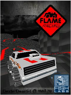 Download free mobile game: Flame Racing 3D MOD - download free games for mobile phone