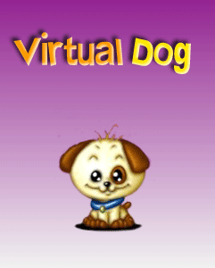 Mobile game Virtual Dog - screenshots. Gameplay Virtual Dog