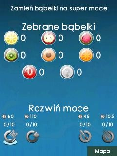 Mobile game Owocowe babelki - screenshots. Gameplay Owocowe babelki
