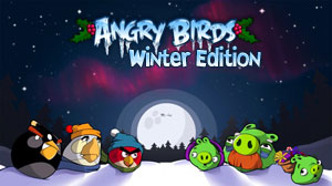 Mobile game Angry Birds Winter Edition - screenshots. Gameplay Angry Birds Winter Edition