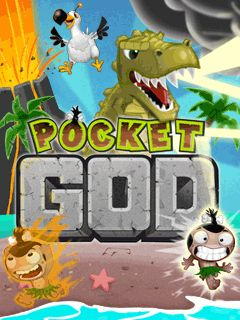 Mobile game Pocket God - screenshots. Gameplay Pocket God