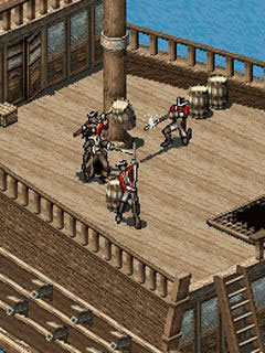 Mobile game Pirates of the Caribbean: Dead Man's Chest - screenshots. Gameplay Pirates of the Caribbean: Dead Man's Chest