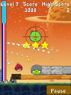 Mobile game Angry Birds Space - screenshots. Gameplay Angry Birds Space